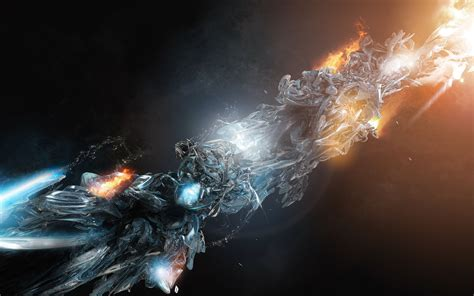 fire and ice wallpaper 1206948