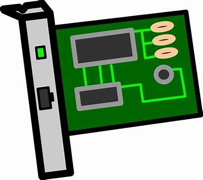 Nic Clipart Network Interface Card Labelled Svg