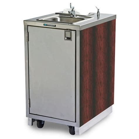 portable stainless steel sink cart lakeside 9620 portable self contained stainless steel hand