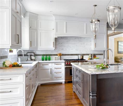 contemporary traditional kitchen sino marble irregular rectangles on backsplash 2549