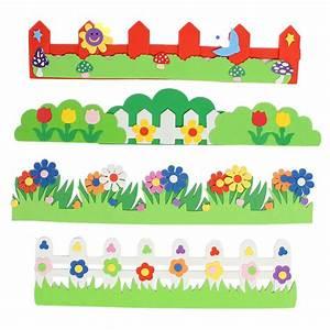 Children Kids Foam Flower Grass Garden Railings