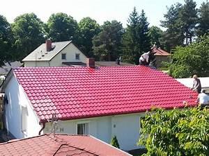 Gartenhaus Dach Blech : dachsanierung mit stahlblechplatten der dachplattenprofi ~ Watch28wear.com Haus und Dekorationen