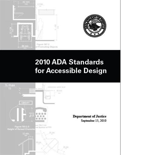 2010 ada standards for accessible design the 2010 ada standards for accessible design are effective