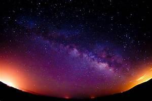 beautiful, night, night sky, photo, sky - image #459885 on ...