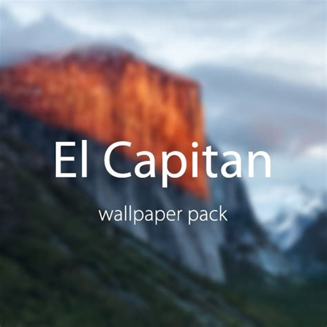 OSX El Capitan Wallpaper Pack   ShockBlast