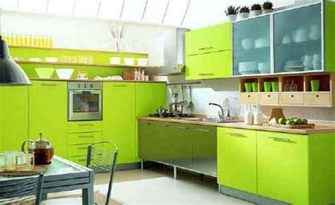 cuisine vert pomme cuisine verte 60 photos et conseils déco pour une cuisine