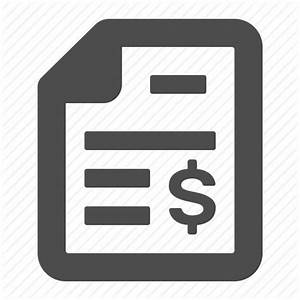 Bill, document, file, financial, report, tax, taxes icon ...