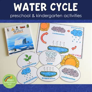 preschool water cycle printable activity set by 692 | original 3767326 1