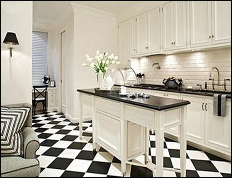 black and white kitchen floors kitchen overhaul 10 must s budgetreno 7855