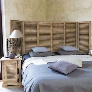 Tete De Lit Maison Du Monde : tete de lit en bois maison du monde tete de lit en bois ~ Melissatoandfro.com Idées de Décoration