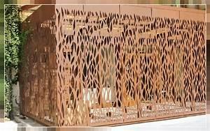 Panneau Perforé Décoratif : detail stock tole perforee et decoupe laser vandeez perfo ~ Preciouscoupons.com Idées de Décoration