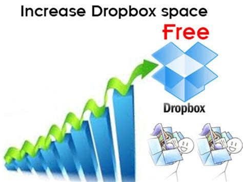 increase dropbox space