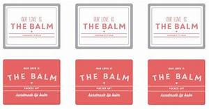 our love is the balm pucker up lip balm labels printable With chapstick label size