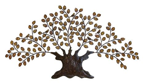 tree of life metal wall art large decoration with branch