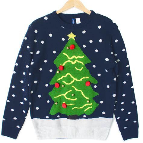 tacky sweater tree navy blue tacky sweater the