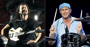 Watch RHCP39s Chad Smith Join Foo Fighters For Faces Cover