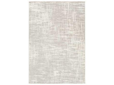 Cing Hammock Brands by Surya Perla Rectangular White Charcoal Area Rug