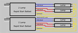 Series Ballast Wiring 4 Lamps