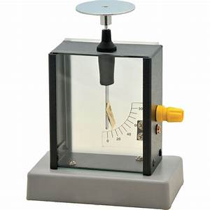 Dual Purpose Electroscope With Scale