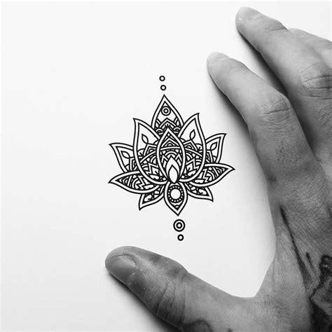 lotus mandala tattoo ideas  pinterest lotus