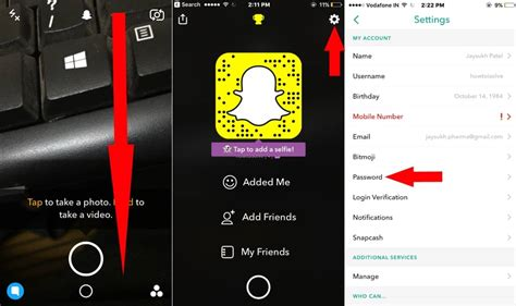 snapchat for iphone how to recover reset snapchat password on iphone