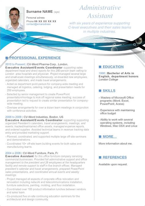 Professional Resume Sles In Word Format by Resume Templates Microsoft Word Want A Free Refresher