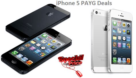 iphone 5 deals iphone 5 pay as you go deals suits everyone iphone hub