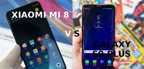 xiaomi mi 8 vs galaxy s9 plus comparativa