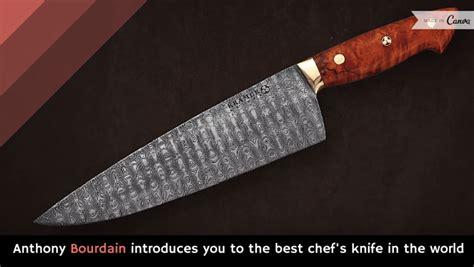 knives knife kitchen chef bourdain chefs anthony viral alltop most kramer bob introduces kitcheniac