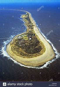 Aerial View Of Spurn Head In The Humber  East Yorkshire  Uk Stock Photo