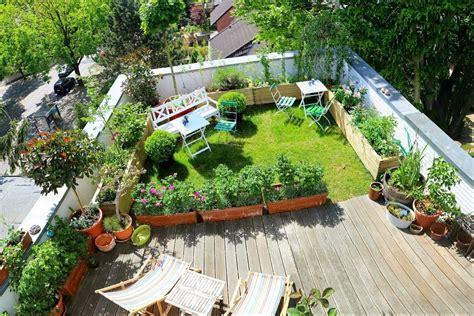 tips mendesain taman rumah minimalis rooftop