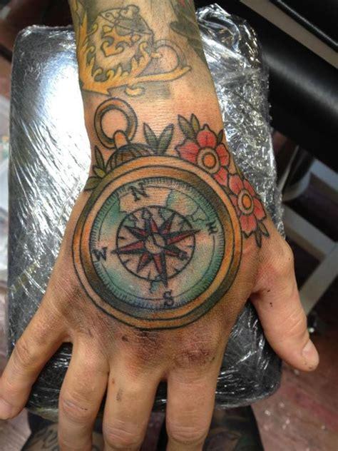 amazing compass tattoo designs mens craze