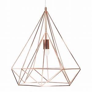 Suspension Maison Du Monde : suspension cuivre en m tal d 45 cm diamond copper maisons du monde ~ Preciouscoupons.com Idées de Décoration