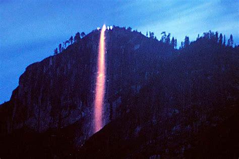 yosemite firefall glacier point yosemite firefall
