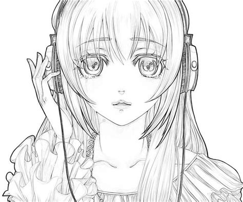 Anime Kleurplaat by Hatsune Miku Coloring Pages Coloring Pages Anime