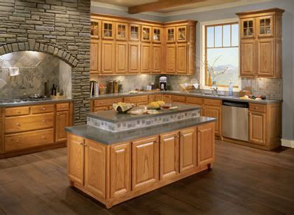 repainting kitchen cabinets pictures of kitchens with honey oak cabinet and granite 1861