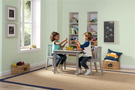 next steps table with storage and 4 chairs set espresso next step table and chairs delta children 39 s products