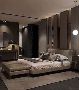 Bedroom In Contemporary Style On Behance In 2019