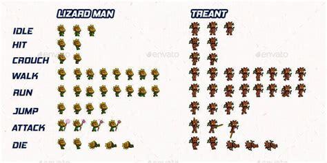 pixel game kit     character sprites
