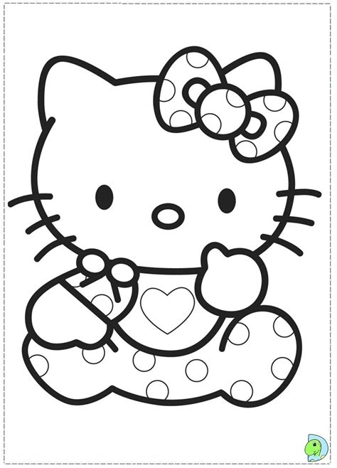baby  kitty coloring pages az coloring pages