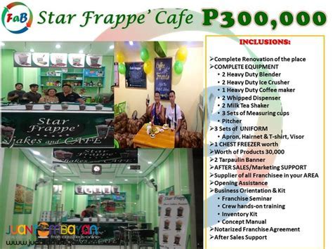 Star Frappe' Cafe Franchise   Quezon City   Rhye Viola