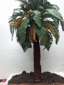 COMO HACER UNA PALMERA PRIMERA PARTE HOW TO MAKE A PALM TREE FOR BELÉN YouTube