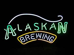 Wiki Neon Sign Blog ALASKAN BREWING BEER BAR CLUB NEON