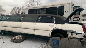 Retired Limousine In The Junk Yard