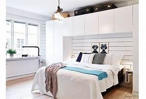 Dressing Derrière Tete De Lit : cr er dressing dans petit appartement c 39 est possible ~ Premium-room.com Idées de Décoration