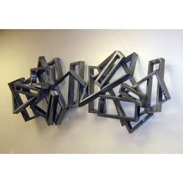 Arqitecture / Metal / Tableau Rectangles 3d / Décoration
