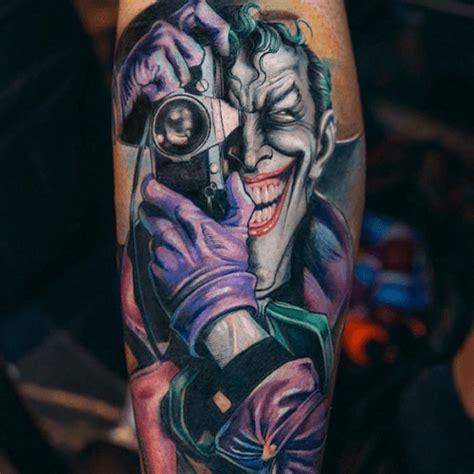 Tatouage Joker  La Folie Encrée  Tattoome  Le Meilleur