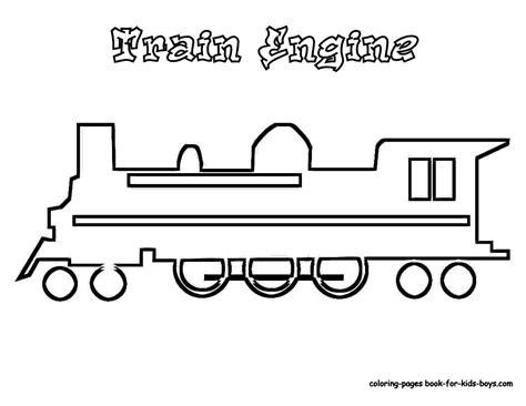 Steel Wheels Train Coloring Sheet