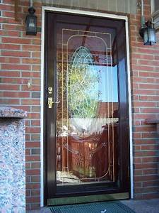 Strom Doors   Aluminum Doors  Glass And Screen  Full View