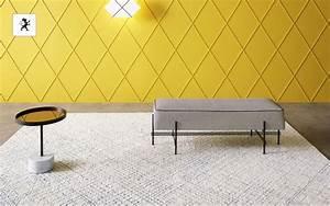 tapis contemporain tapis modernes decofinder With tapis couloir avec canapé bio sans polyurethane